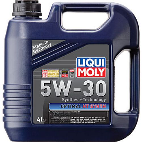 LIQUI MOLY Optimal HT Synth 5w-30 A3/B4 4 л. (4шт) масло моторное, HC-синт. 39001/2345